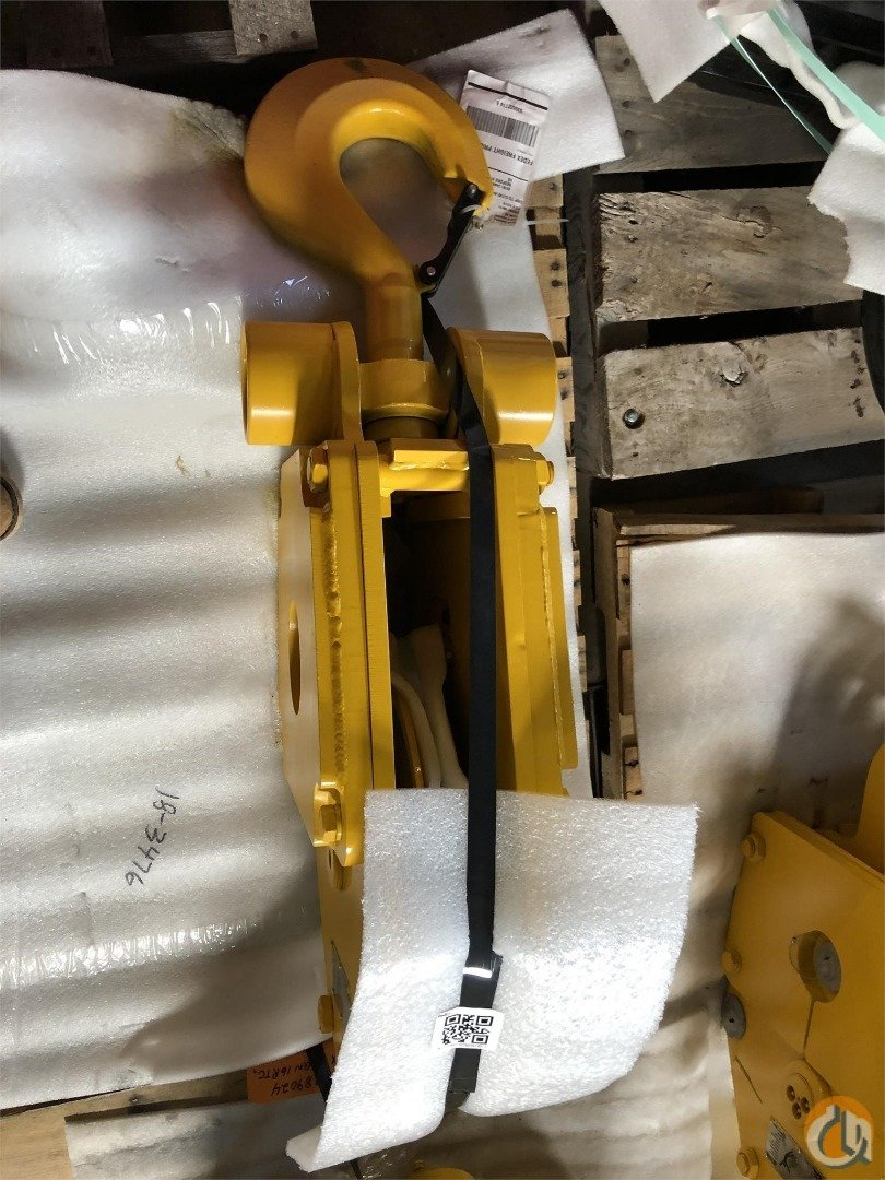 Johnson New 25 Ton Johnson Hook Block Hook Block Crane Part for Sale in Cleveland Ohio on CraneNetwork.com