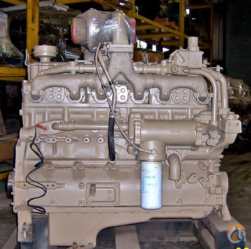 Cummins Rebuilt Cummins NT 855C Engines  Transmissions Crane Part for Sale in Cleveland Ohio on CraneNetwork.com