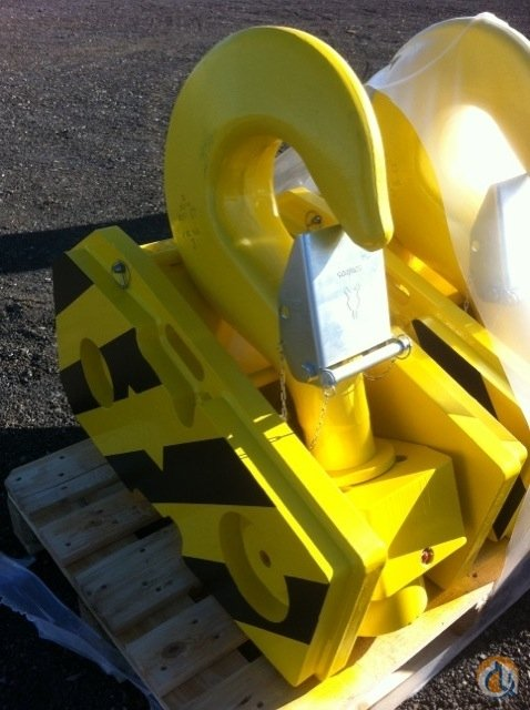 RopeBlock 60 Ton Quick Reeve Block Hook Block Crane Part for Sale on CraneNetwork.com