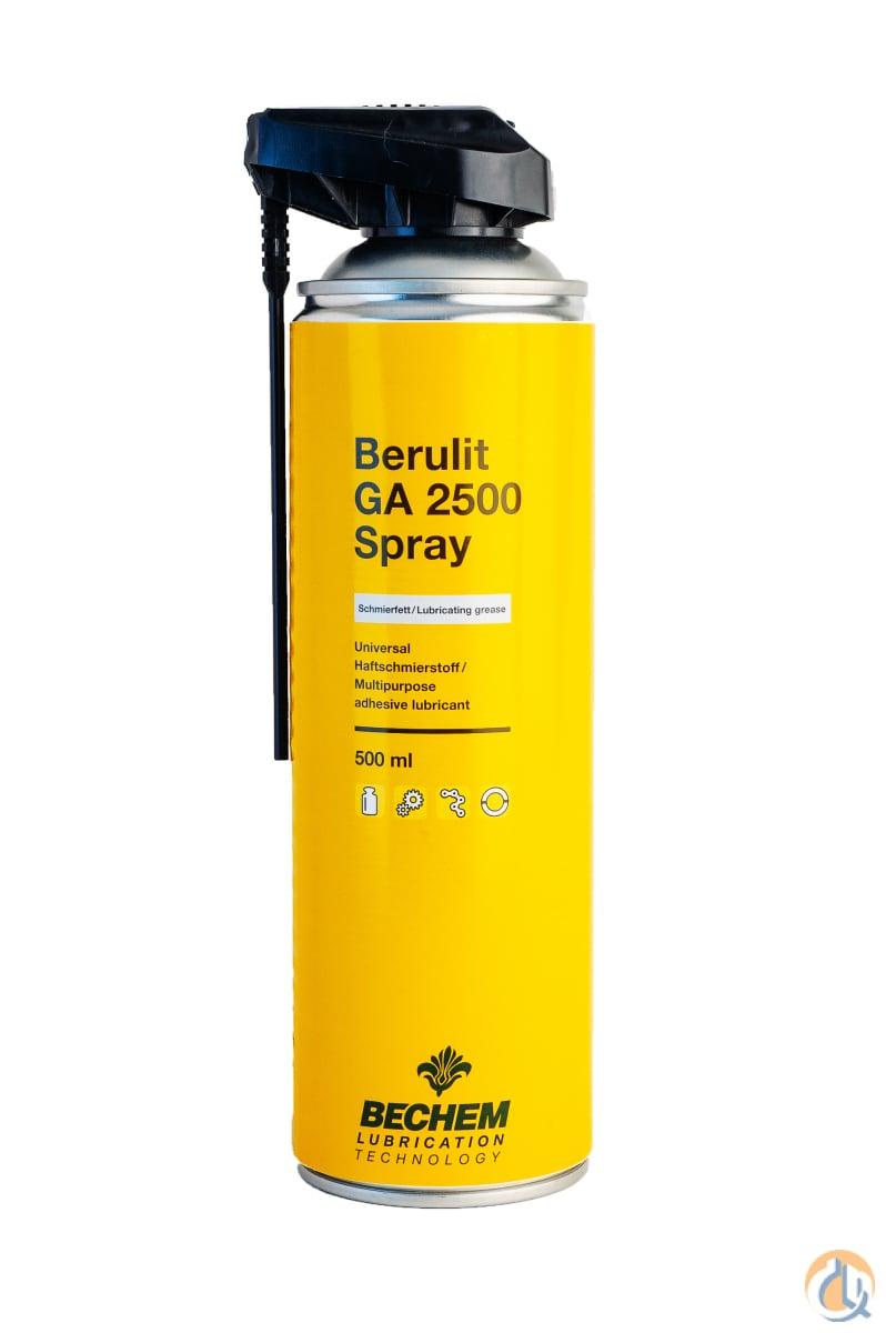 Berulit GA 2500 Open Gear Lubricant Spray Lubricants Crane