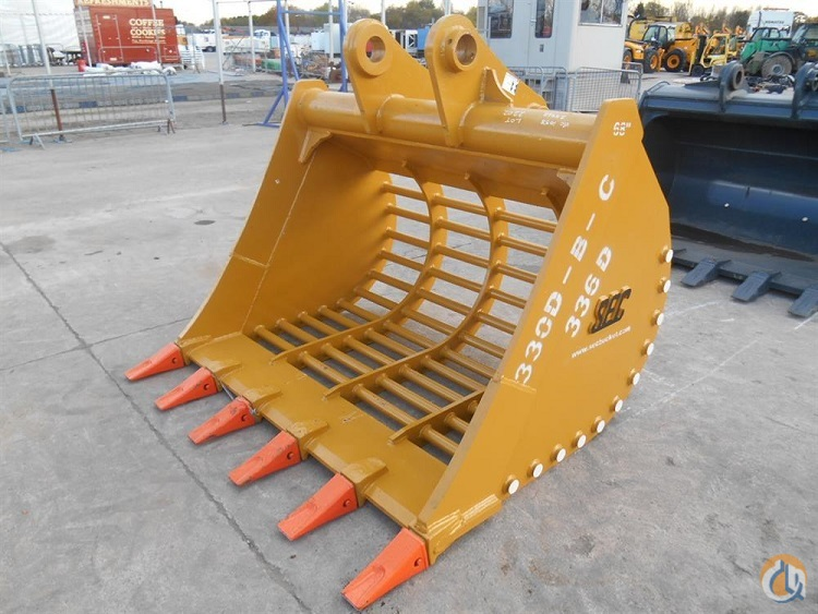 SEC SEC 68quot Skeleton Bucket to suit CAT330D Buckets Drag Clam Concrete Crane Part for Sale in Houston Texas on CraneNetwork.com