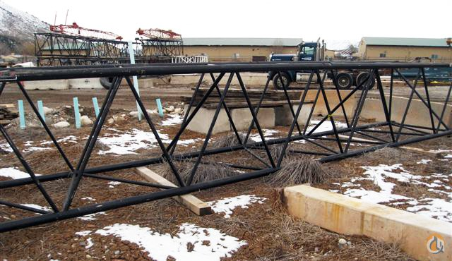 Link-Belt 40039 Boom Section for Link-Belt Cranes Boom Sections Crane Part for Sale in Long Beach California on CraneNetworkcom
