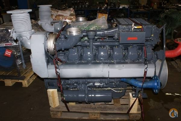 MAN MAN RECONDITIONED ENGINES Engines  Transmissions Crane Part for Sale on CraneNetworkcom