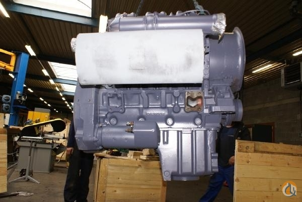 Deutz Deutz F6L413F Engines  Transmissions Crane Part for Sale on CraneNetworkcom