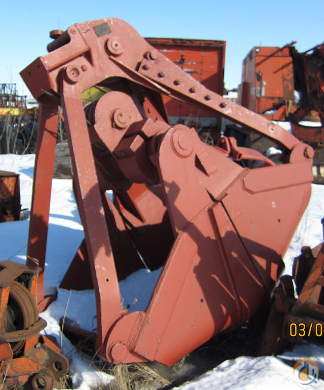 ESCO Round Nose Buckets Drag Clam Concrete Crane Part for Sale on CraneNetwork.com