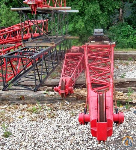 Link-Belt Jib Sections Ls418 LS518 Boom Sections Crane Part for Sale in Fort Worth Texas on CraneNetworkcom