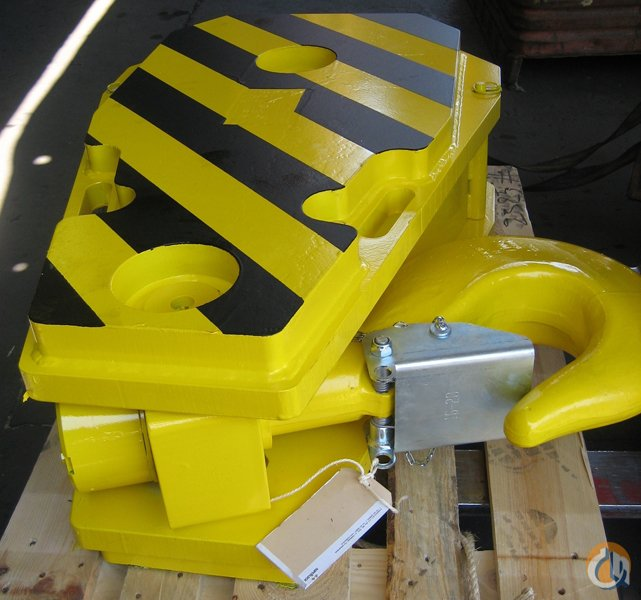 RopeBlock 176 TON- 5 SHEAVE Hook Block Crane Part for Sale in New York New York on CraneNetworkcom