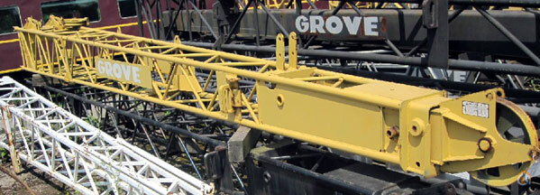 Grove 2-159-900136 - Grove Tele swingaway -fixed nose Jib Sections  Components Crane Part for Sale in Cleveland Ohio on CraneNetworkcom