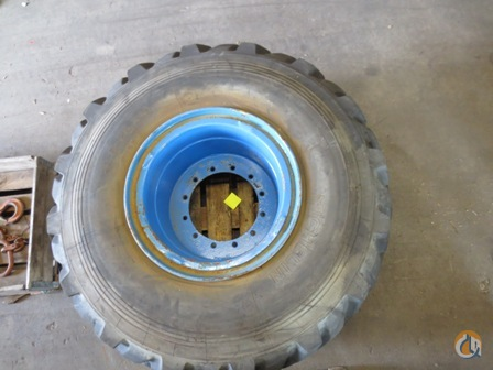 Grove wheel assy Grove RT Tires Crane Part for Sale on CraneNetwork.com