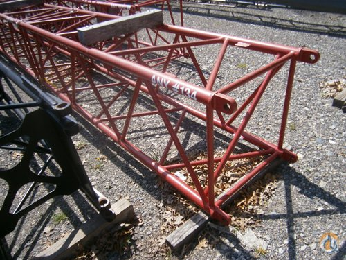 Manitowoc 134 10039 Jib Insert Jib Sections  Components Crane Part for Sale on CraneNetwork.com