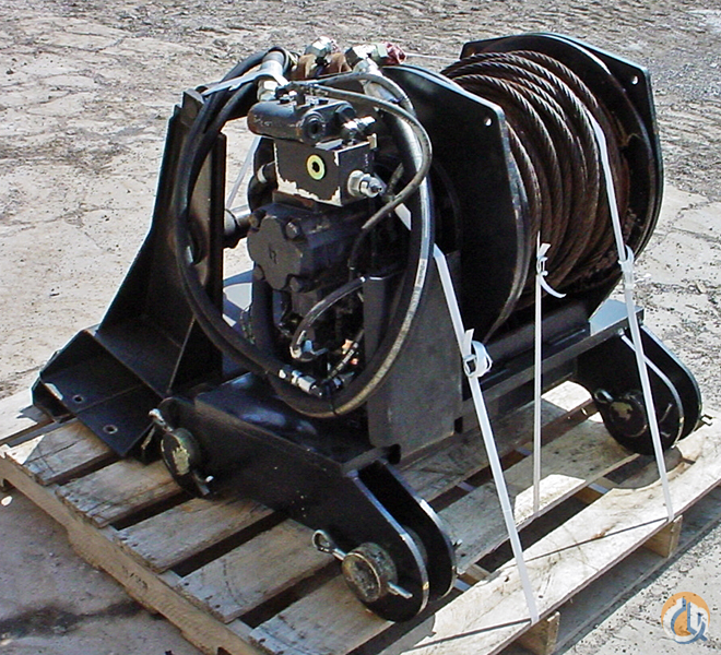Link-Belt 3rd Drum Assembly for 138HSL Winches  Drums Crane Part for Sale in Oxford Massachusetts on CraneNetworkcom