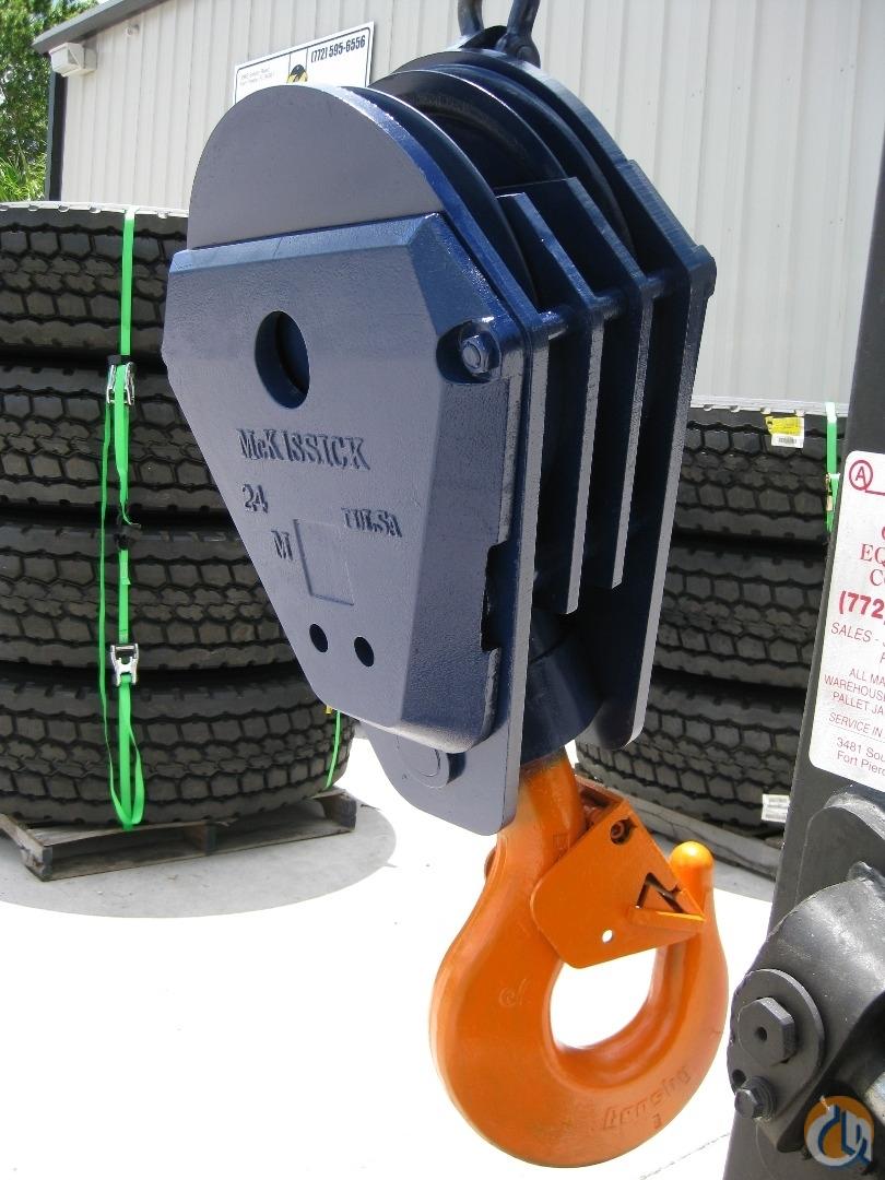 Mckissick 75 Ton Block Hook Block Crane Part For Sale In