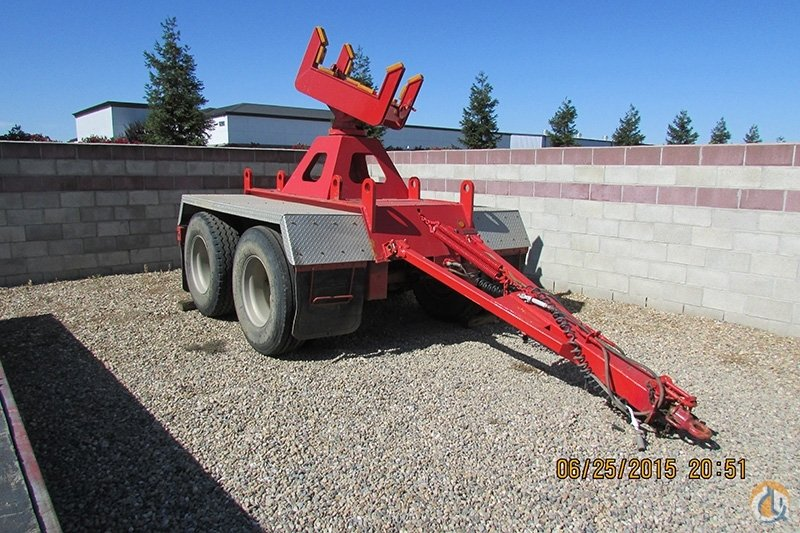 Unknown 2001 Two Axle Boom Dolly Near New Condition Model HT300-15-001 Boom Dolly Crane Part for Sale on CraneNetwork.com