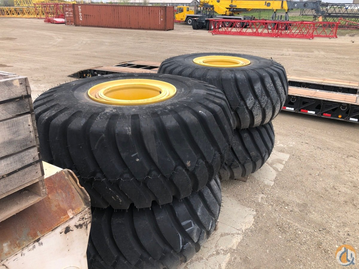 Grove 29.5 x 25 New tires with Rims for Grove Cranes Tires Crane Part for Sale on CraneNetwork.com