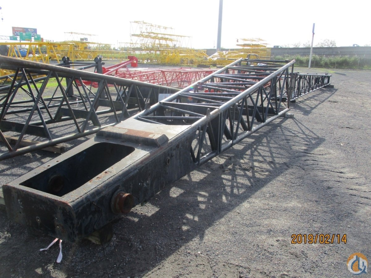 Link-Belt Link-Belt LS408  LS418  LS418A - 25 Tubular Tip Boom Sections Crane Part for Sale on CraneNetwork.com