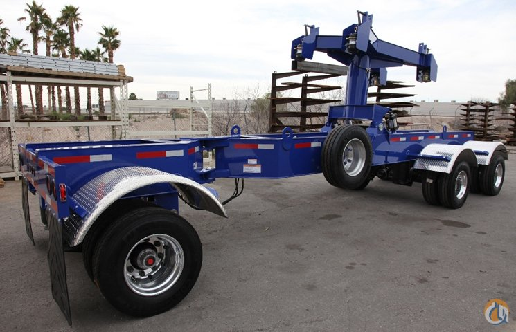 Transworld Manufacturing 3-Axle Boom Dolly Boom Dolly Crane Part for Sale on CraneNetworkcom