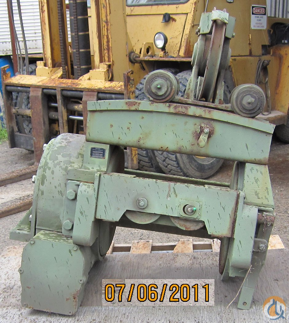 Garwood Worn Drive Winch Winches  Drums Crane Part for Sale on CraneNetwork.com