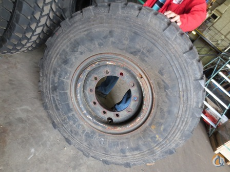 Unknown Wheel Assy. 1400 R20 Tires Crane Part for Sale on CraneNetwork.com