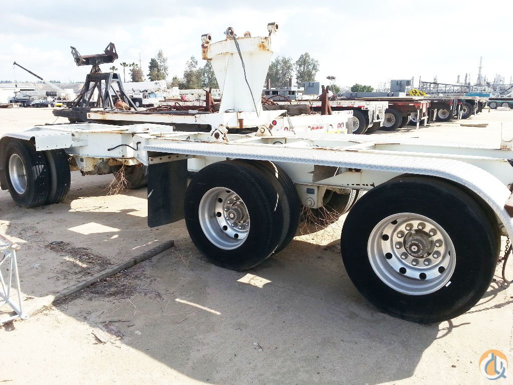 Demag 3 Axle Boom Dolly Boom Dolly Crane Part for Sale on CraneNetworkcom