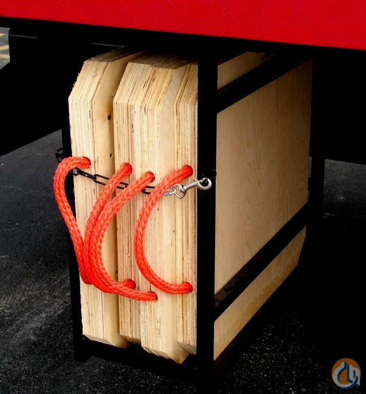 Lifton S Inc 4 Birchwood Outrigger Pads Outrigger Mats