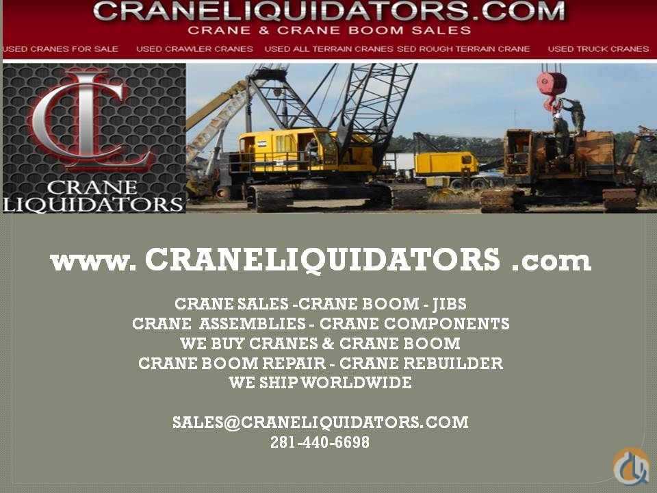 Grove GROVE BOOM -BASE RT 990 - FITS OTHER Boom Sections Crane Part for Sale on CraneNetwork.com