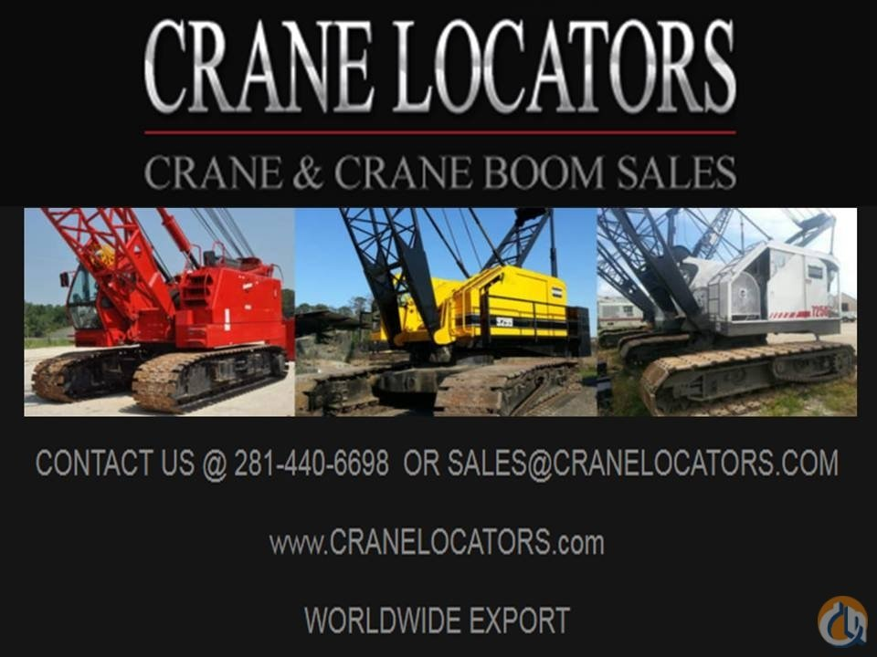 American AMERICAN TEREX CRANE BOOM Boom Sections Crane Part for Sale in Houston Texas on CraneNetwork.com