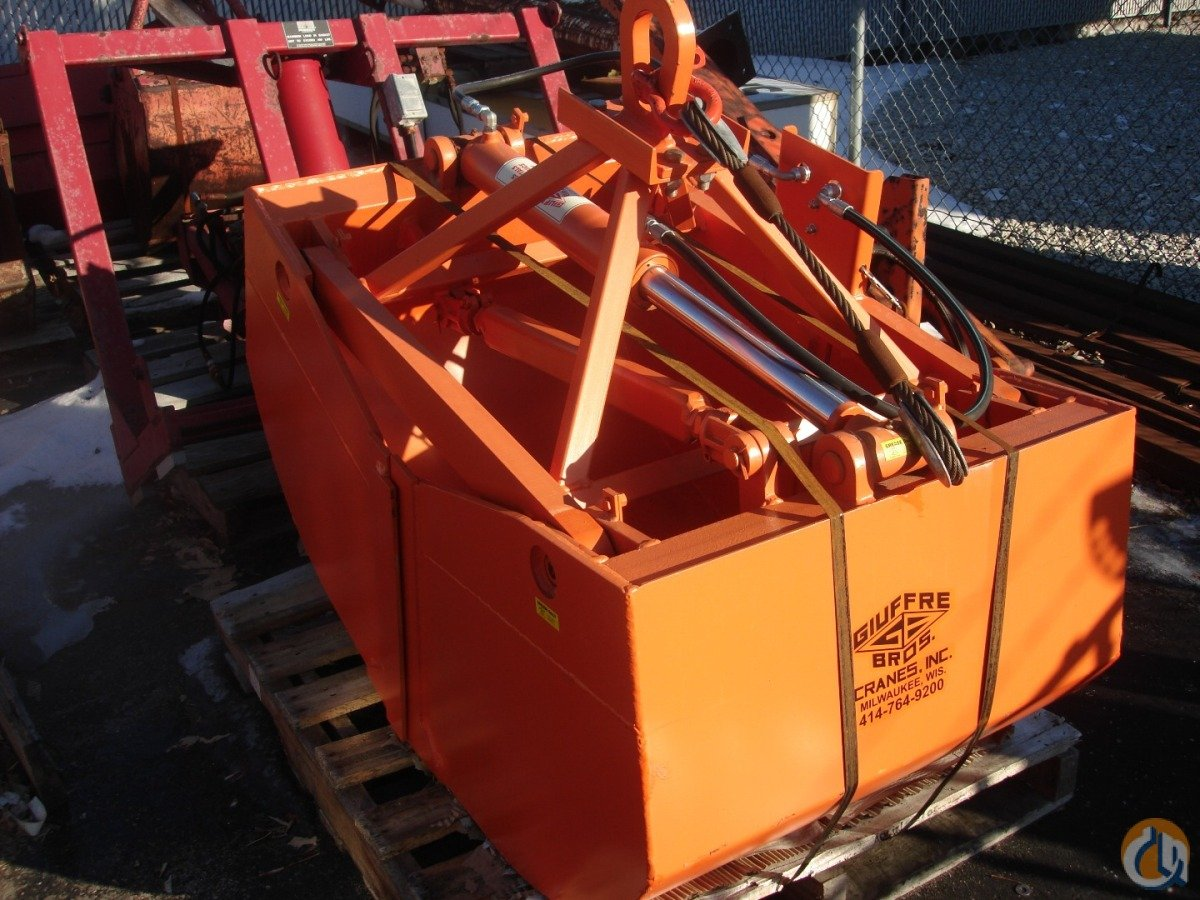 Fits Most Cranes Hydraulic Clam Bucket Buckets Drag Clam Concrete Crane Part for Sale in Milwaukee Wisconsin on CraneNetwork.com