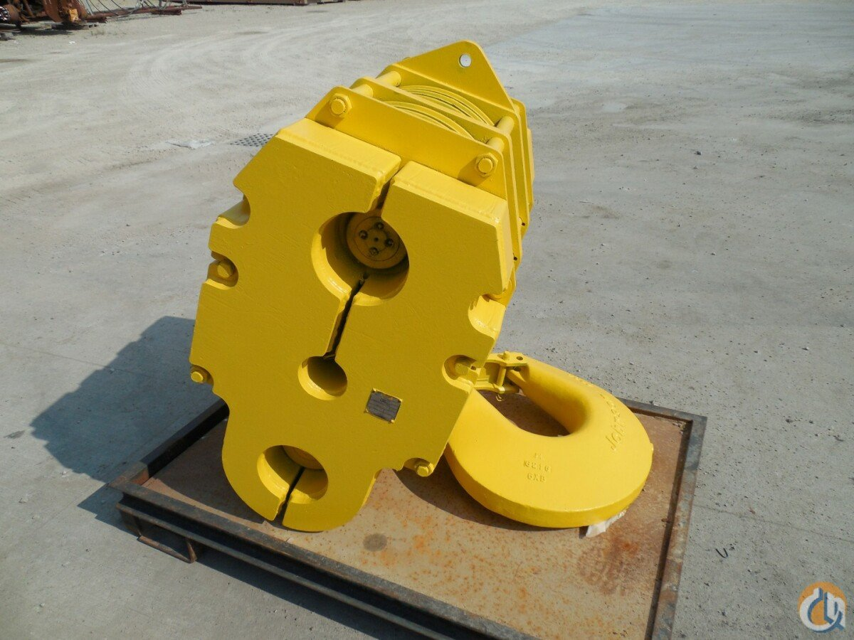 Johnson 100 Ton Hook Block Hook Block Crane Part for Sale in Covington Ohio on CraneNetworkcom