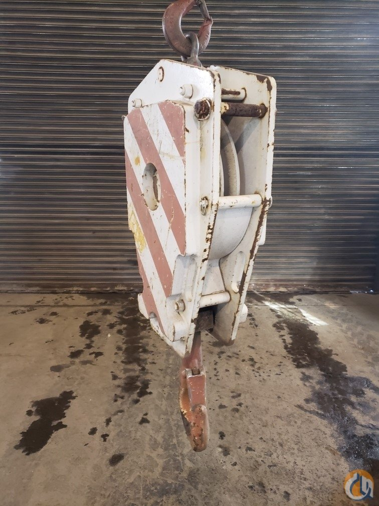 Terex-Demag Demag 20T Hook Block Hook Block Crane Part for Sale in Branchburg New Jersey on CraneNetwork.com