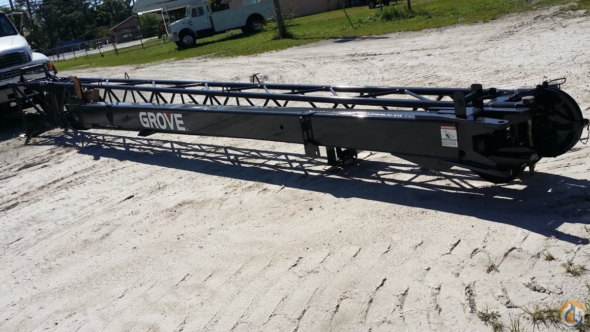 Grove GROVE LINKBELT and TEREX Jibs bifold and telescopic jibs Jib Sections  Components Crane Part for Sale in Fort Pierce Florida on CraneNetwork.com
