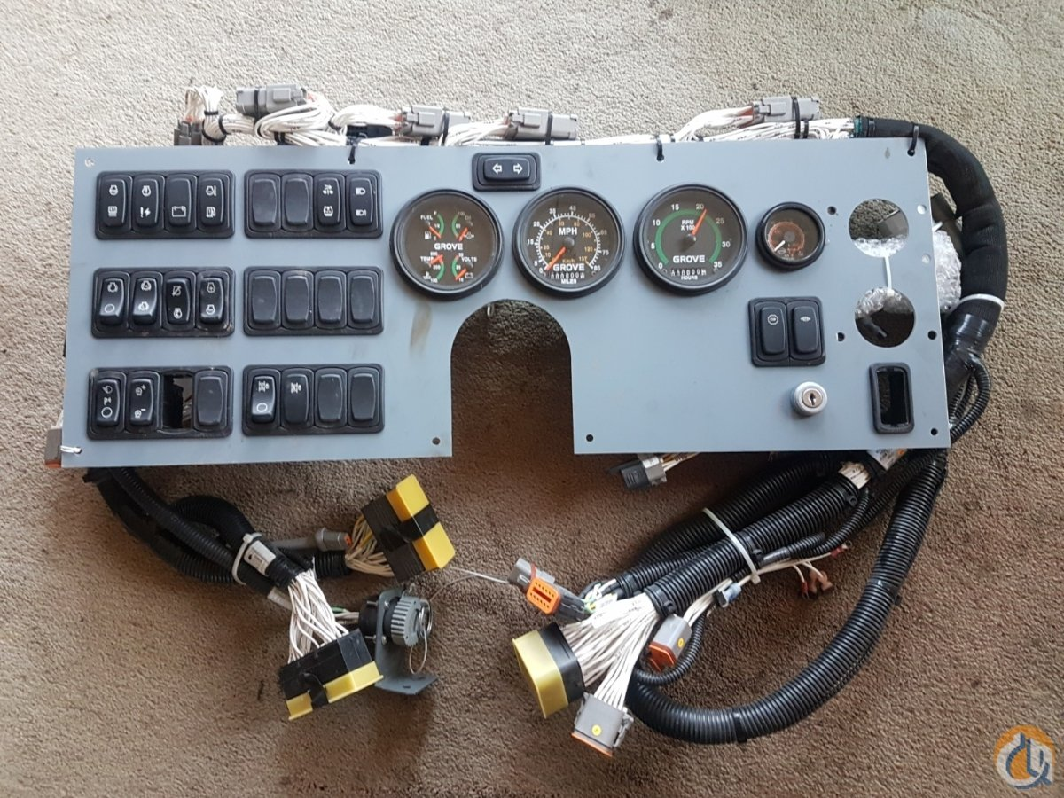 Grove Grove Dash Electrical Systems Crane Part for Sale on ... on