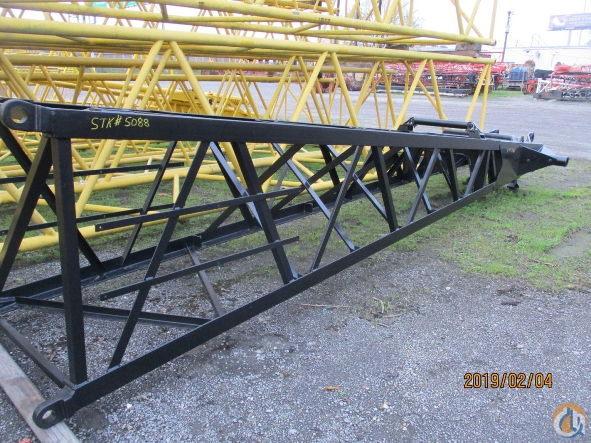 Link-Belt Link-Belt Fits LS138H2  LS208H2 20 x 48 x 48 x 4 Angle Boom Base   CranesList ID 304 Boom Sections Crane Part for Sale on CraneNetwork.com