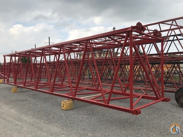 Manitowoc 999 - 40  82 999 Boom Inserts wboom stop lugs  wstraps and pins Boom Sections Crane Part for Sale in Belle Chasse Louisiana on CraneNetwork.com