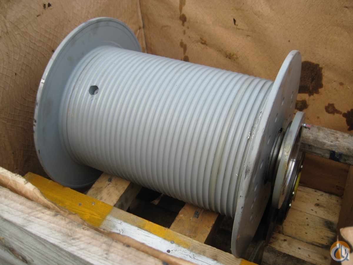 Liebherr Hydraulic Winch Winches  Drums Crane Part for Sale in Reeuwijk South Holland on CraneNetwork.com