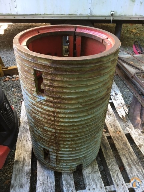 Manitowoc Drag Line Lagging Winches  Drums Crane Part for Sale in Seattle Washington on CraneNetwork.com