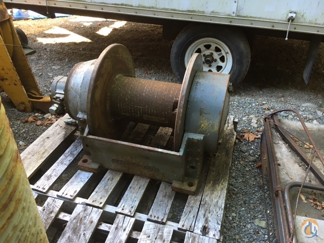 Manitowoc M-25 Pull master Wench Winches  Drums Crane Part for Sale in Seattle Washington on CraneNetwork.com
