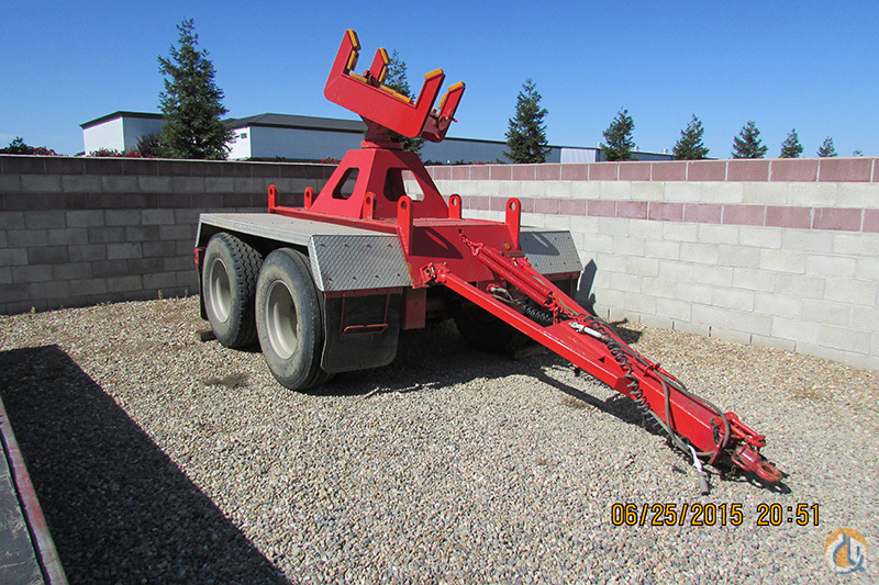 Link-Belt Two Axle Boom Dolly Boom Dolly Crane Part for Sale on CraneNetwork.com