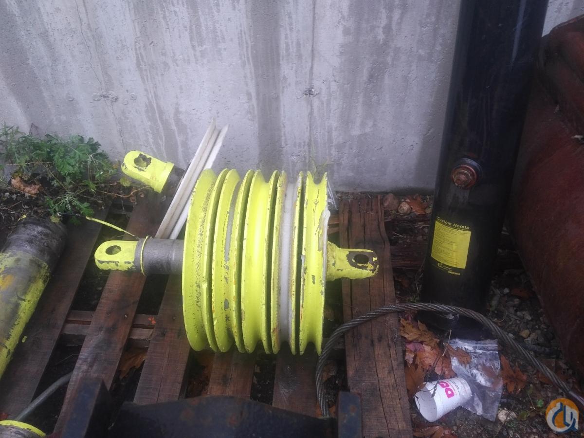 Liebherr Liebherr Tip Sheaves Sheaves Crane Part for Sale in