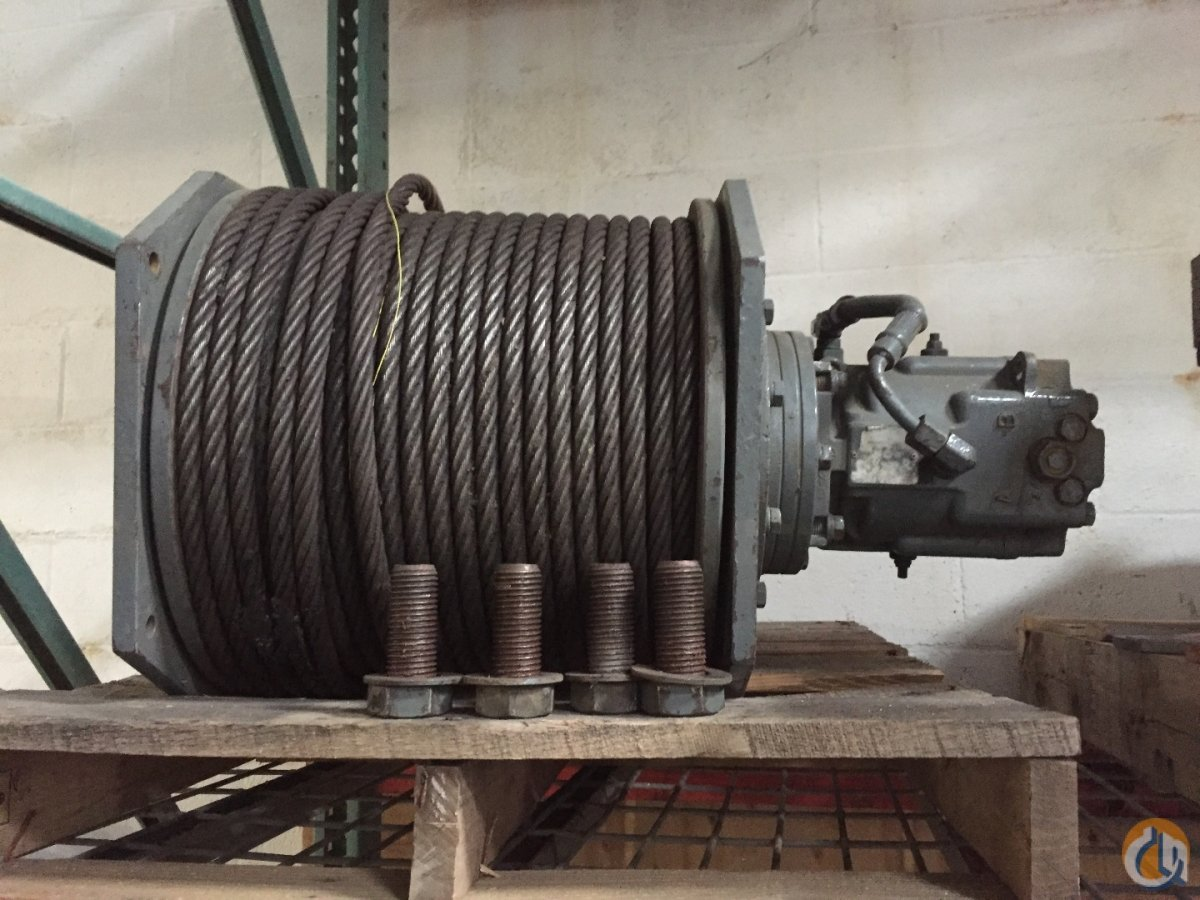 Manitowoc Manitowoc 222 Third Drum Winches  Drums Crane Part for Sale in Cleveland Ohio on CraneNetworkcom