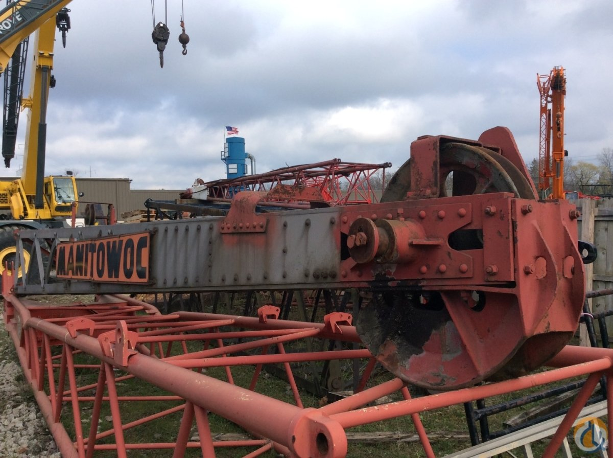 Manitowoc  16 Manitowoc Aluminum Drag Point Boom Tip Extension  Crane Part for Sale in Cleveland Ohio on CraneNetwork.com