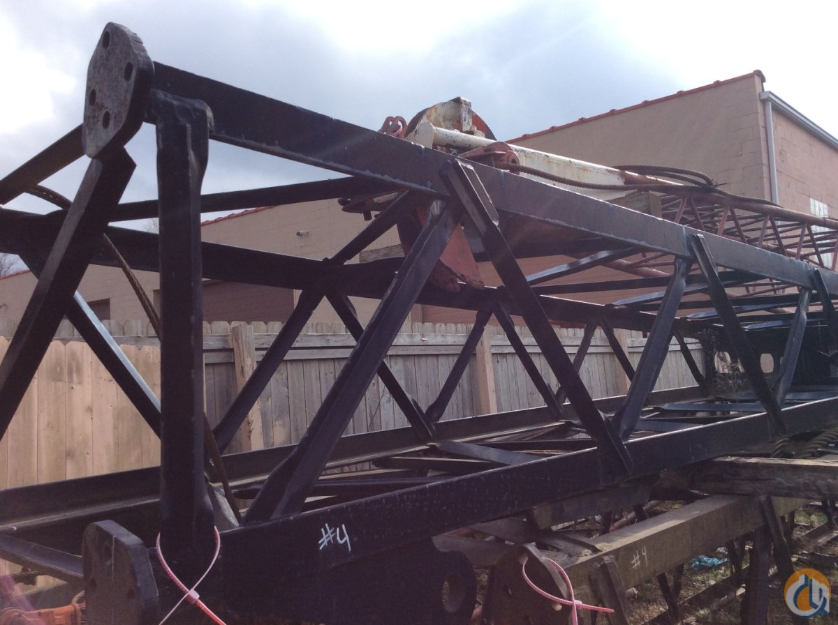 Manitowoc  4 Heel Section Boom Sections Crane Part for Sale in Cleveland Ohio on CraneNetwork.com