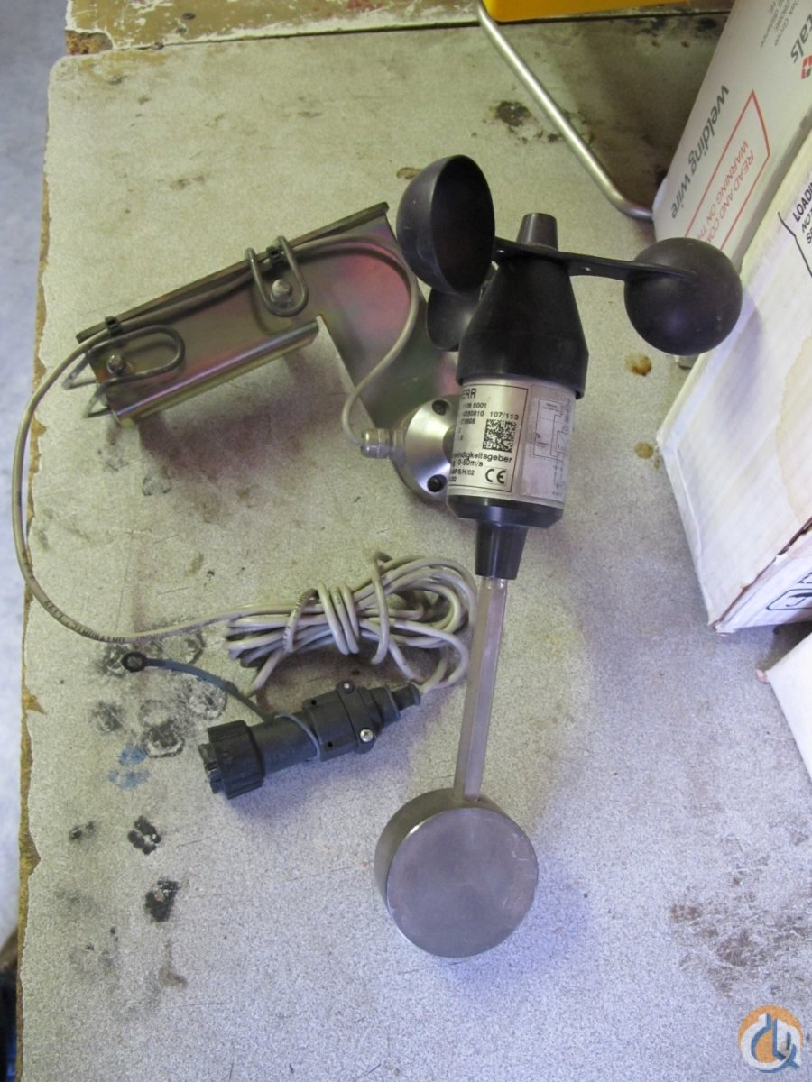 Liebherr Liebherr anemometer fits LTM series Electrical Systems Crane Part for Sale in New Holland Pennsylvania on CraneNetwork.com
