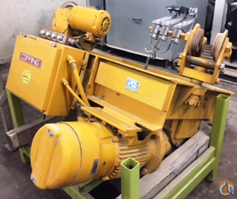 Coffing COFFING WORM-DRIVE HOIST 10000 LBS CAPACITY 15 FT LIFT 30 FPM SPEED HoistsWinches Crane Part for Sale in Coffeyville Kansas on CraneNetwork.com