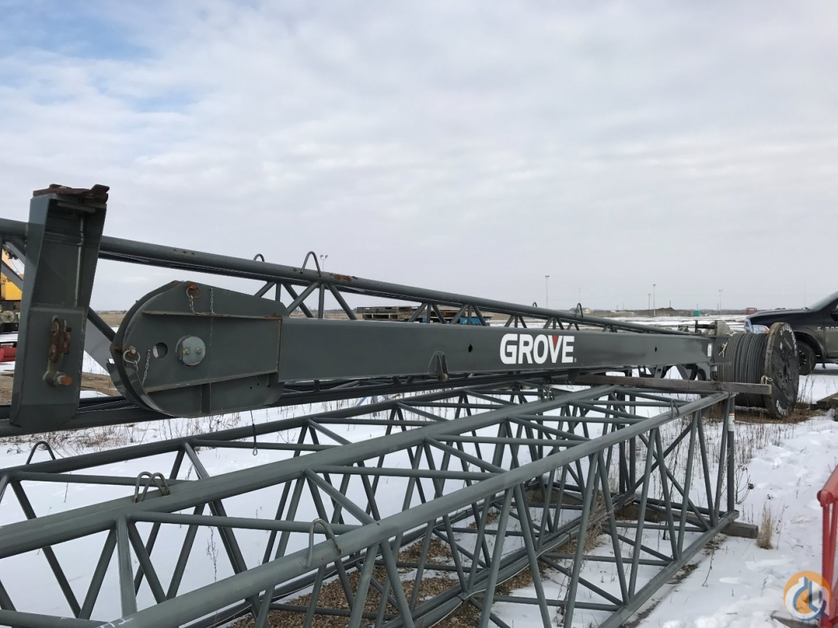 Grove 2006 GROVE RT890E SWING-AWAY JIB FOR SALE Jib Sections  Components Crane Part for Sale in Edmonton Alberta on CraneNetwork.com