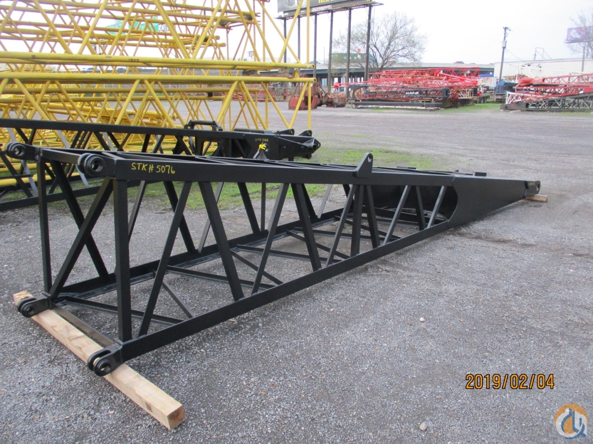 Link-Belt Two Link-Belt Fits LS108H  LS108H5 - 20 x 42 Boom Sections Crane Part for Sale on CraneNetwork.com