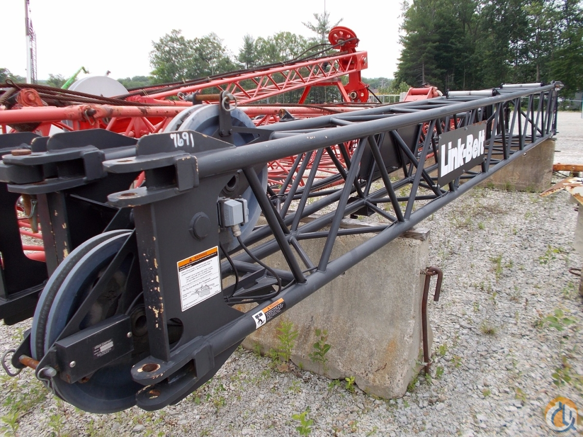 Link-Belt Link-Belt 28.5 to 51 Fly Jib Sections  Components Crane Part for Sale in Oxford Massachusetts on CraneNetwork.com