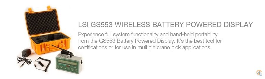 Load Systems International LSI GS553 Wireless Battery Powered Display Miscellaneous Parts Crane Part for Sale on CraneNetwork.com