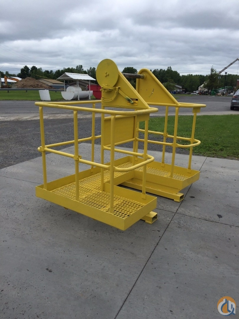 Manitex Manitex 2-Man Non-Rotating Basket Man Baskets Crane Part for Sale in Syracuse New York on CraneNetwork.com