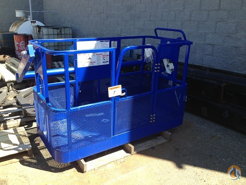 Tadano Tadano Boom Truck Basket Man Baskets Crane Part for Sale in Cleveland Ohio on CraneNetwork.com