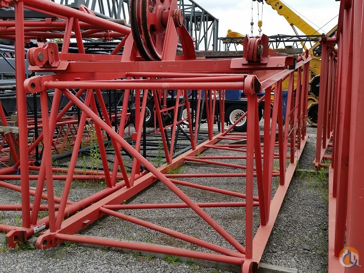 Manitowoc Manitowoc 2250 44 Transition Section with sheave assembly Boom Sections Crane Part for Sale in Cleveland Ohio on CraneNetwork.com